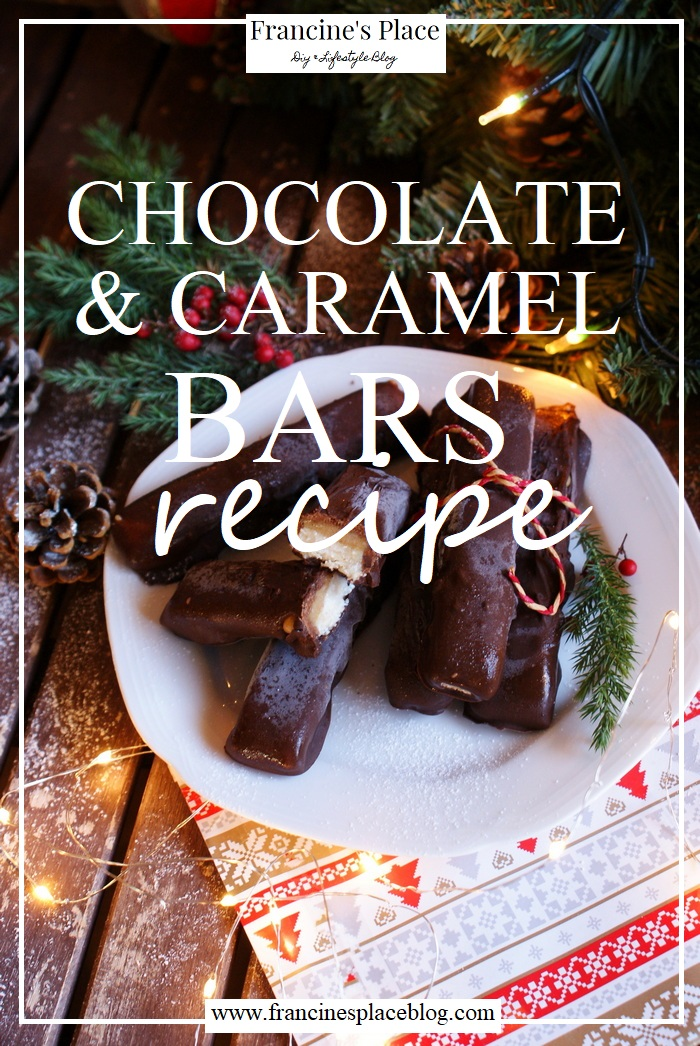chocolate caramel bars recipe francinesplaceblog