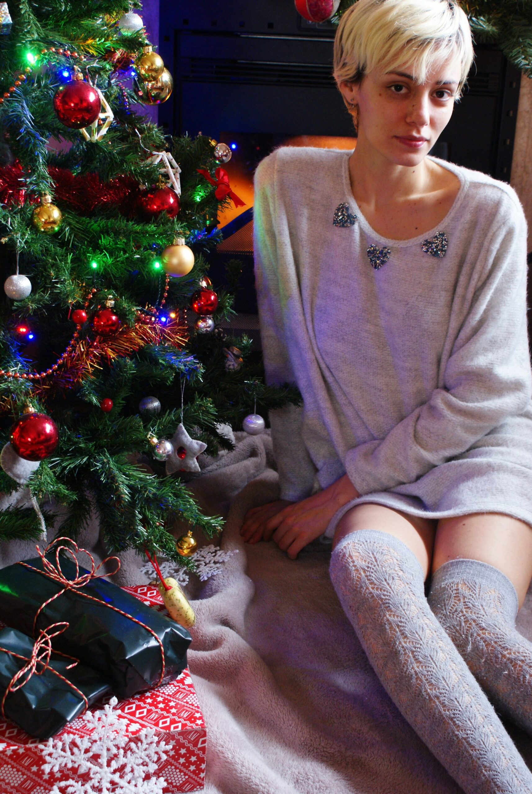 outfit natale idee maglione feste