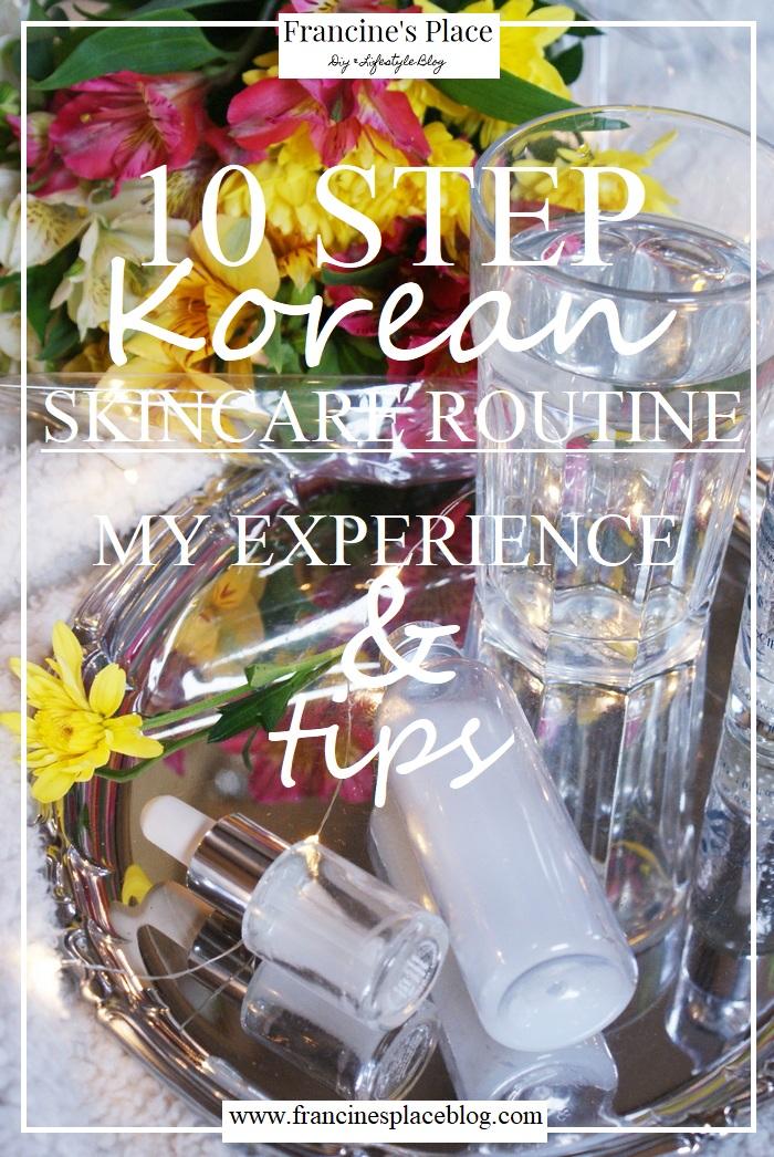 korean skincare review tips francinesplaceblog