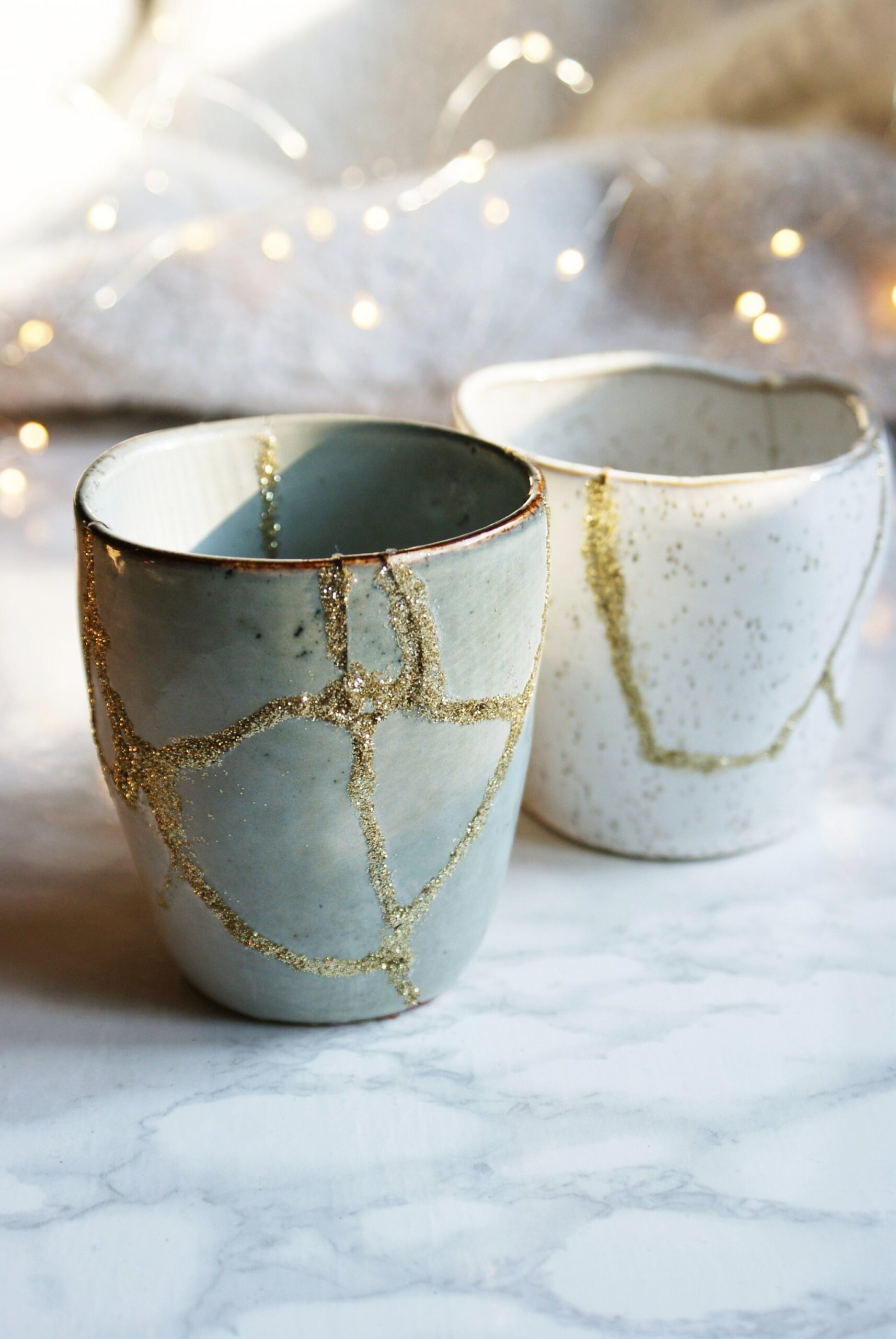 DIY KINTSUGI (THE JAPANESE ART OF REPAIRING BROKEN POTTERY)