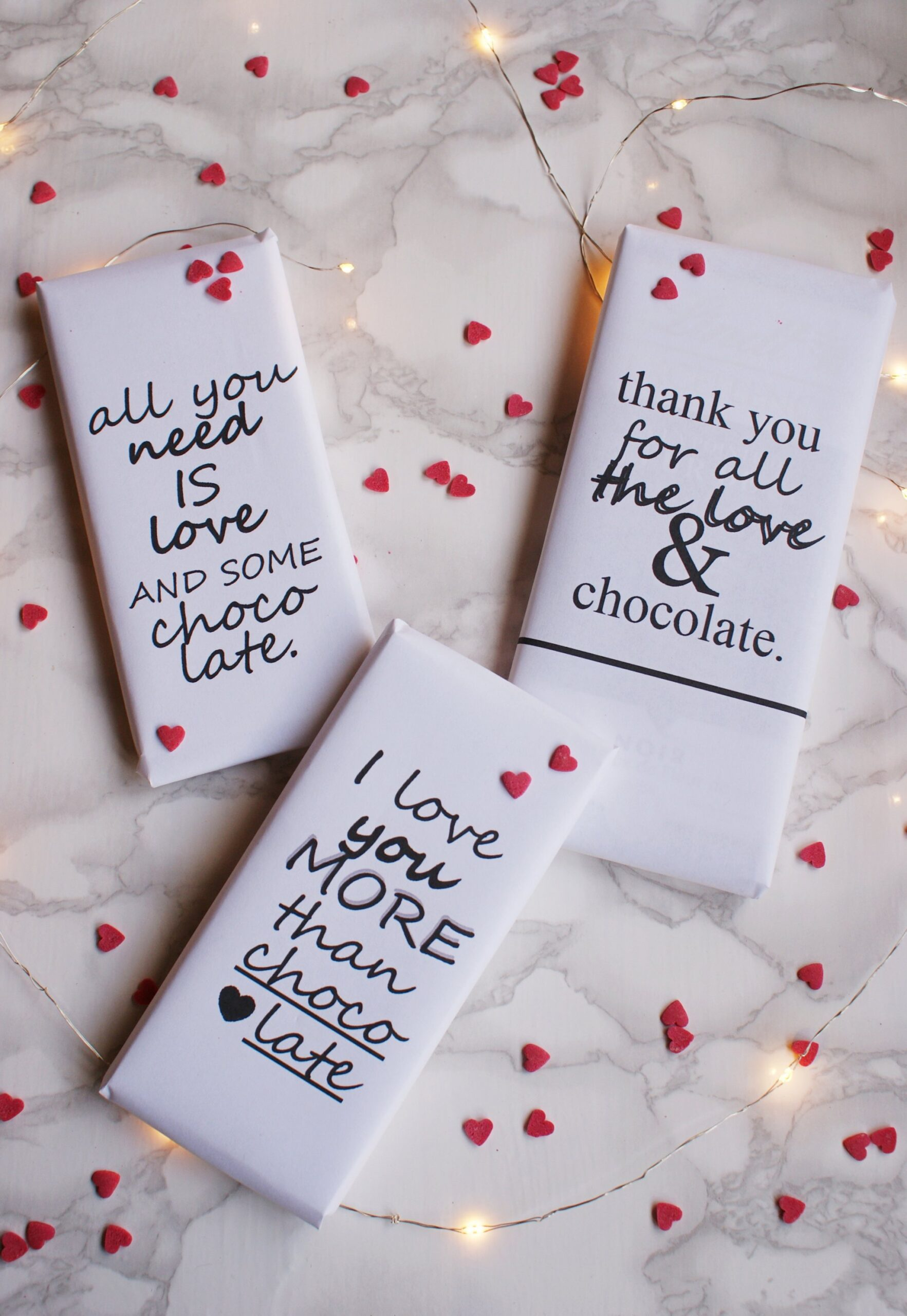 diy valentine day chocolate wrappers francinesplaceblog printables