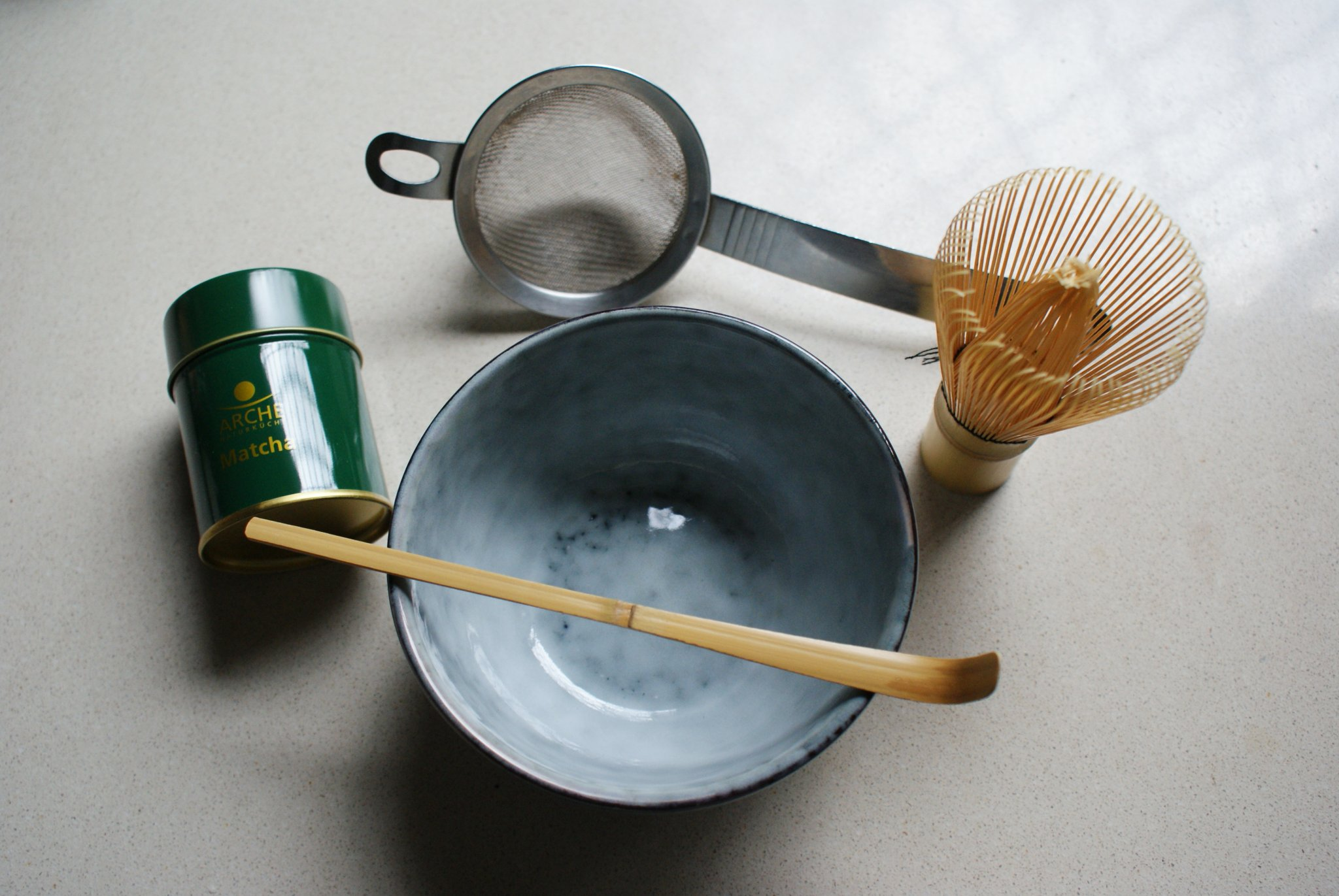 make matcha tools how home