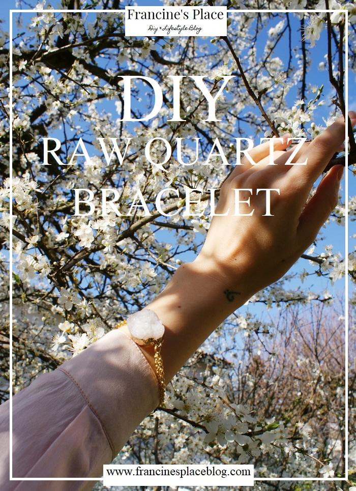 diy quartz bracelet tutorial francinesplaceblog