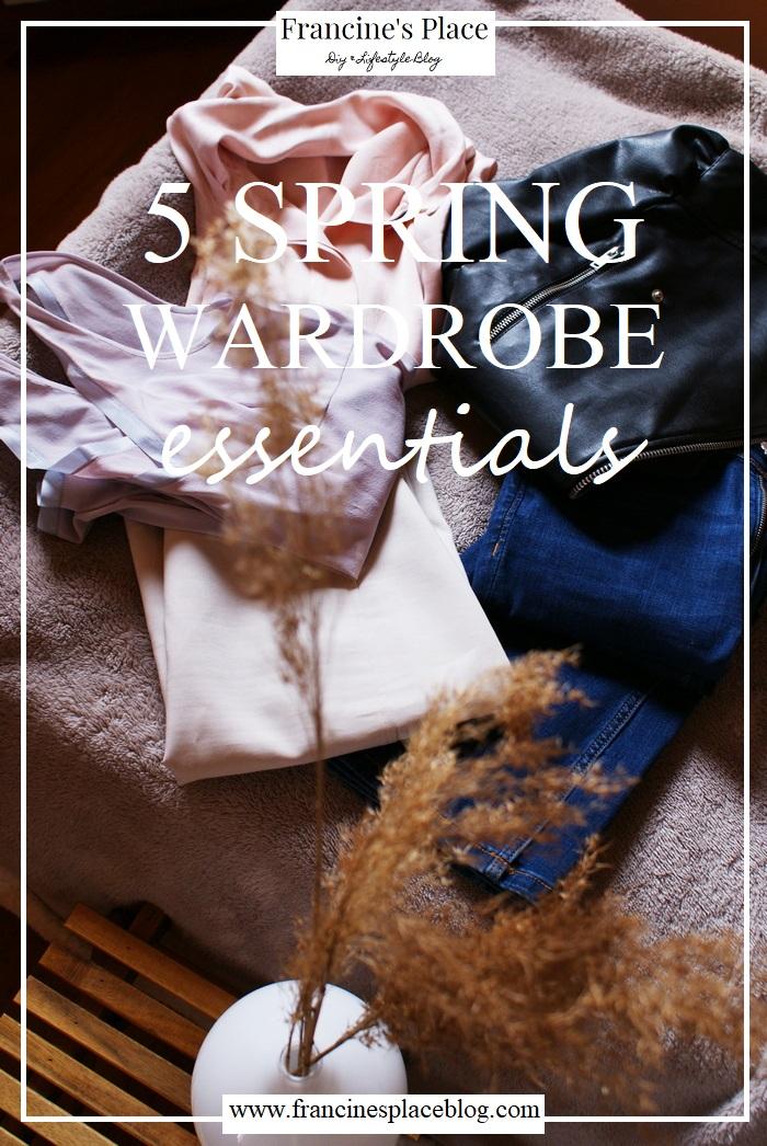 spring wardrobe essentials clothing outfit francinesplaceblog