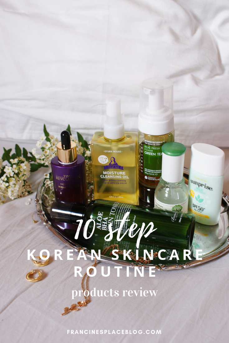 10 step korean skincare routine products review tips opinion francinesplaceblog