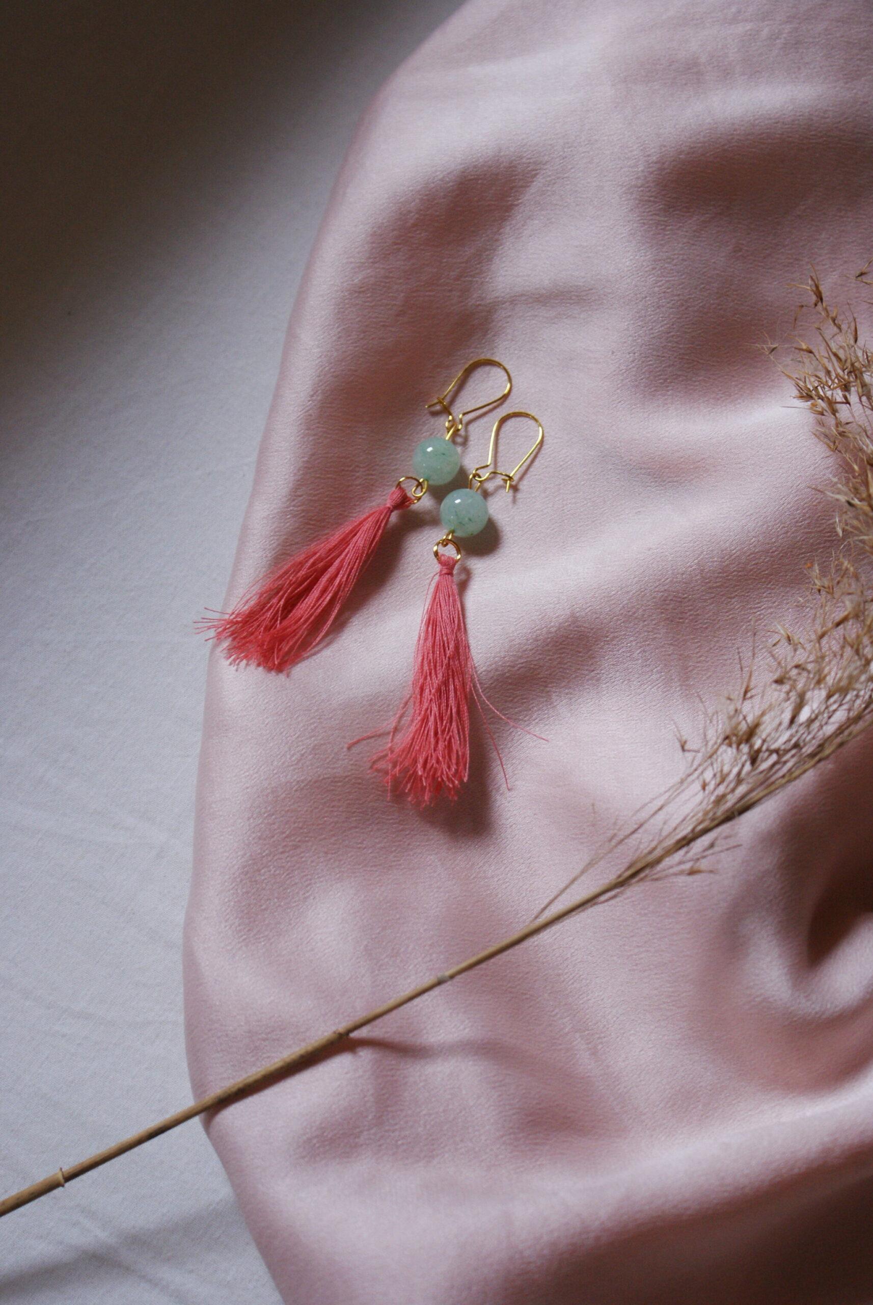best easy diy tassel earrings