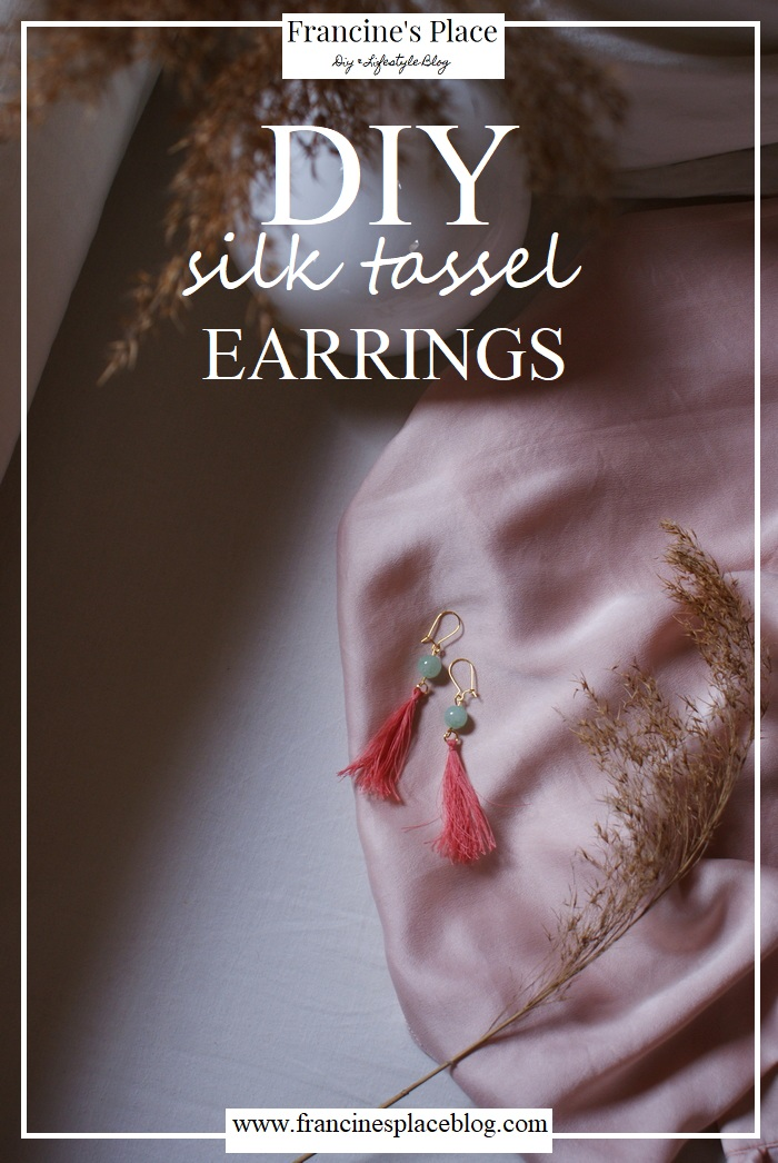 diy tassel earrings tutorial francinesplaceblog