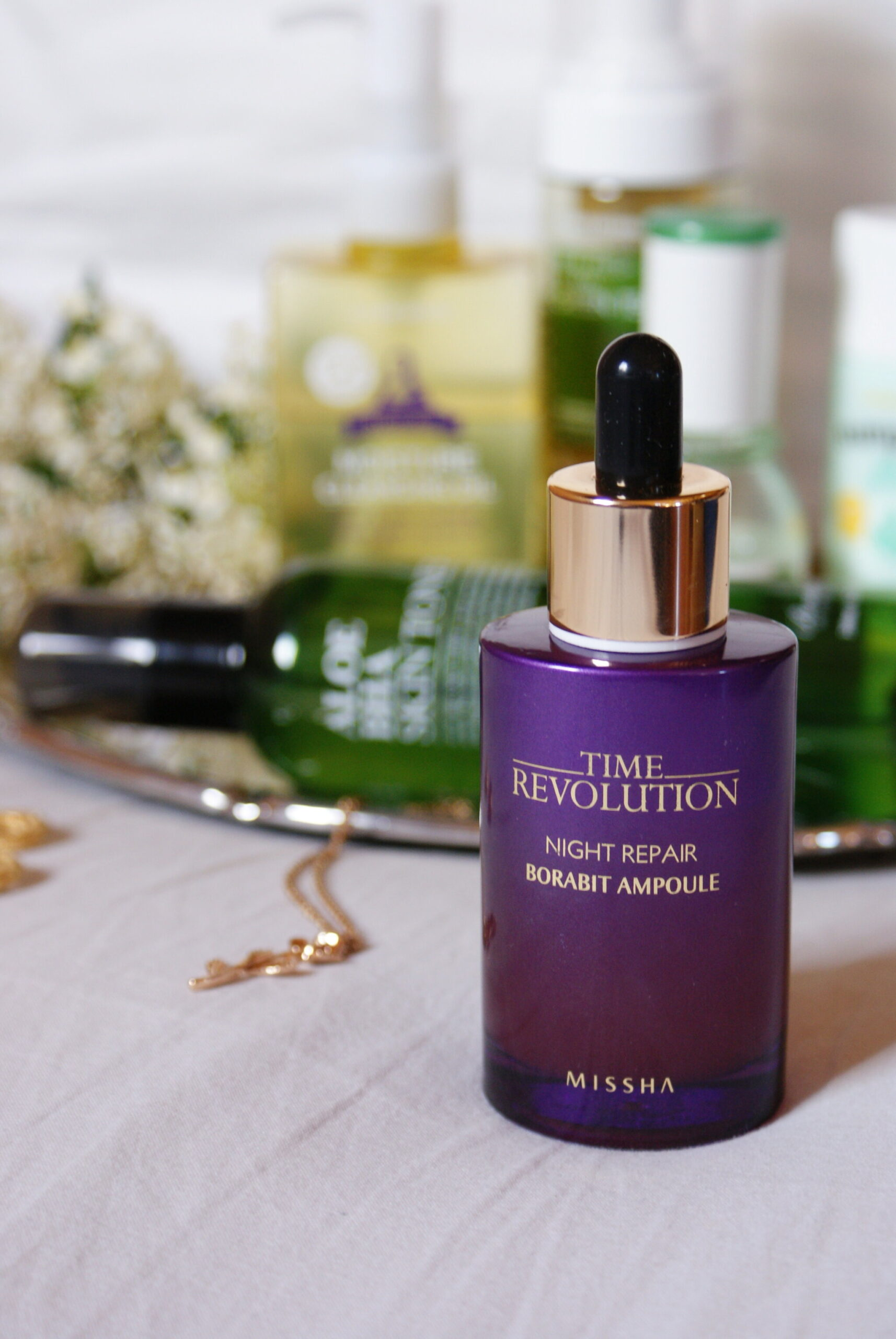 missha revolution ampoule review product