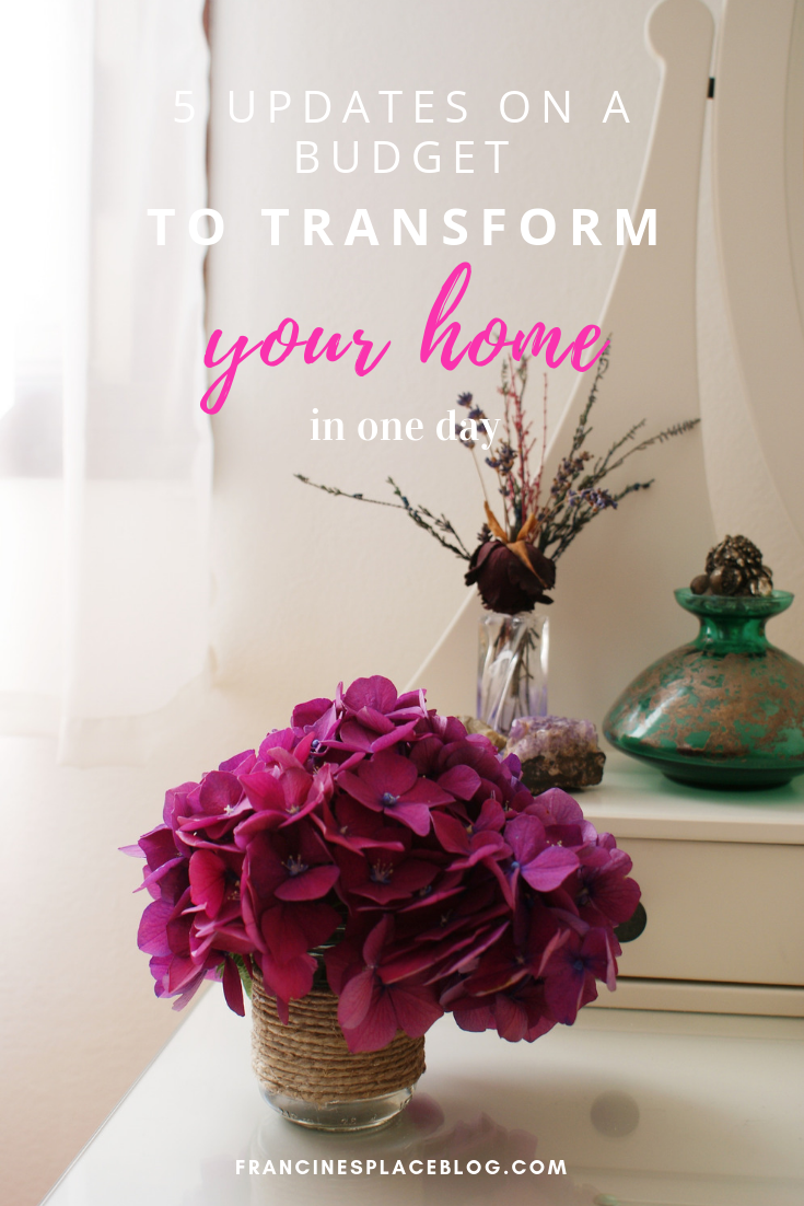 update home transform free budget tips how francinesplaceblog