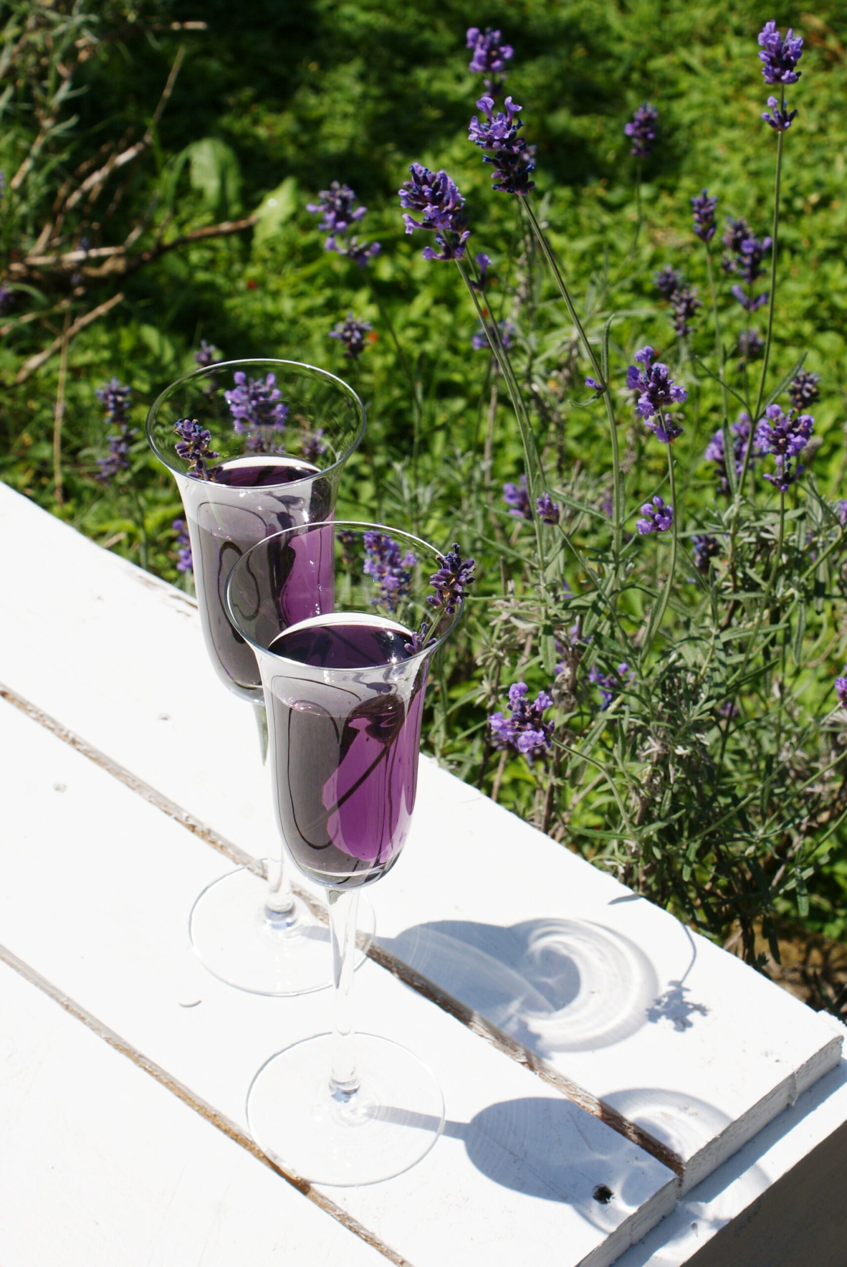 LAVENDER AND PROSECCO COCKTAIL RECIPE