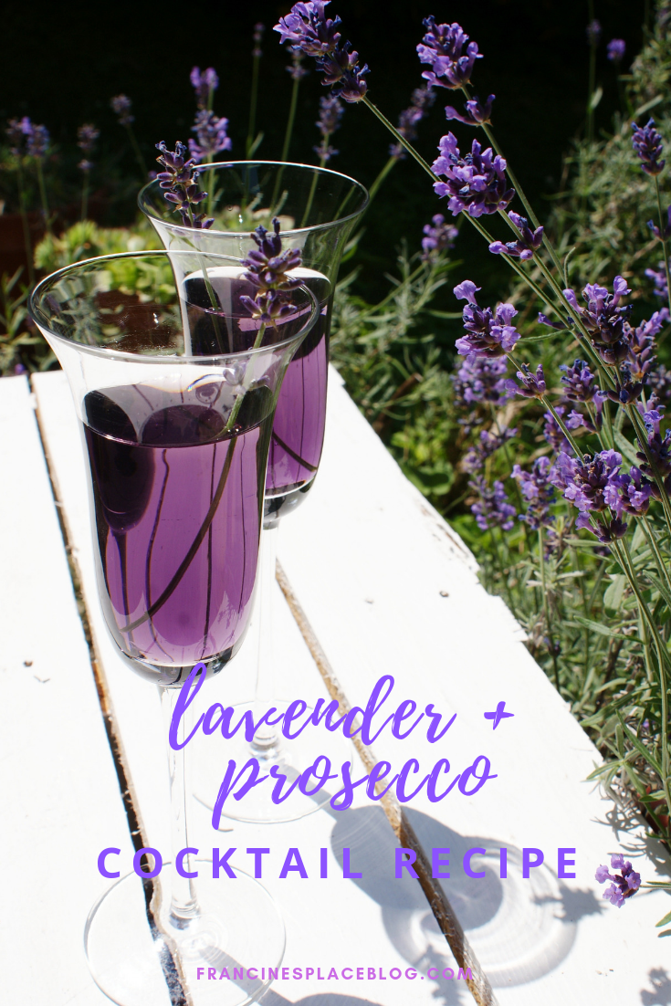 lavender prosecco lavanda cocktail recipe easy drink wedding francinesplaceblog idea