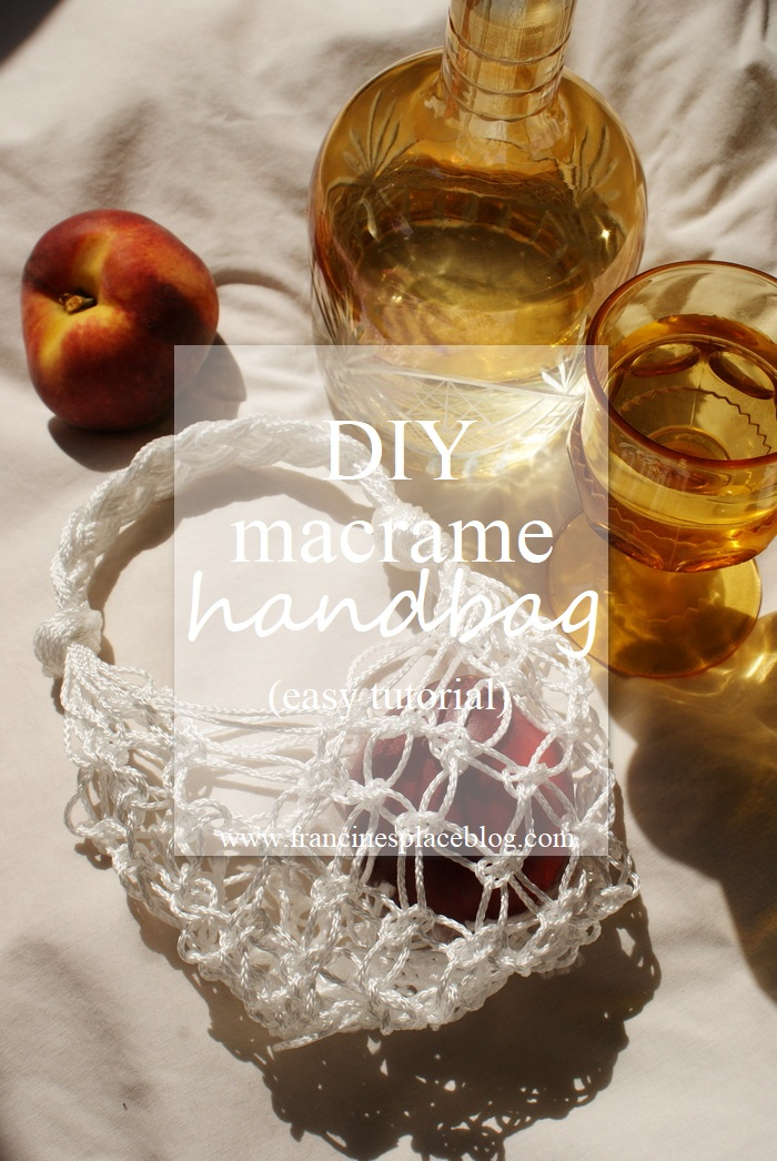 diy macrame handbag easy tutorial net produce francinesplaceblog
