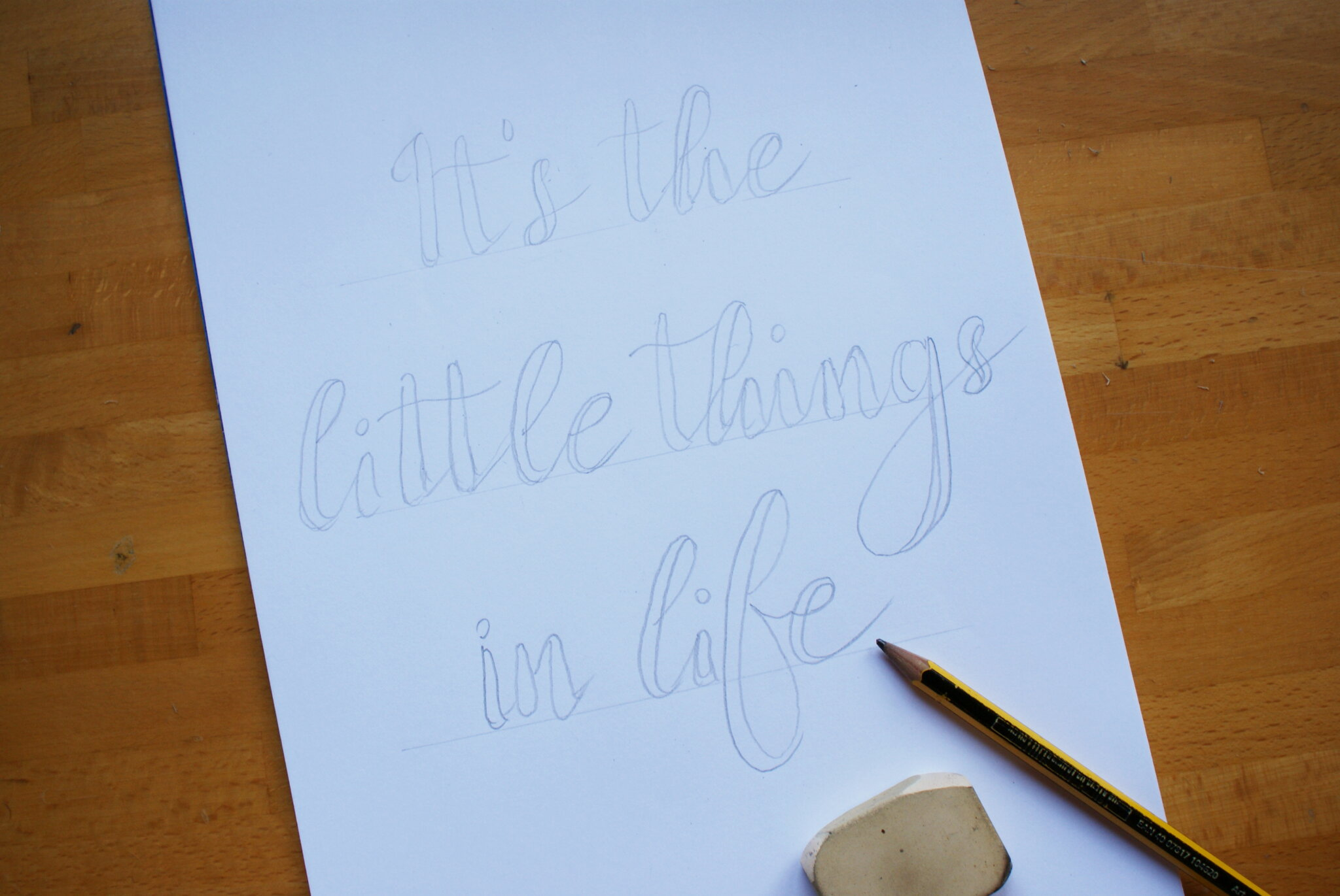 calligraphy hand lettering guide beginners tutorial