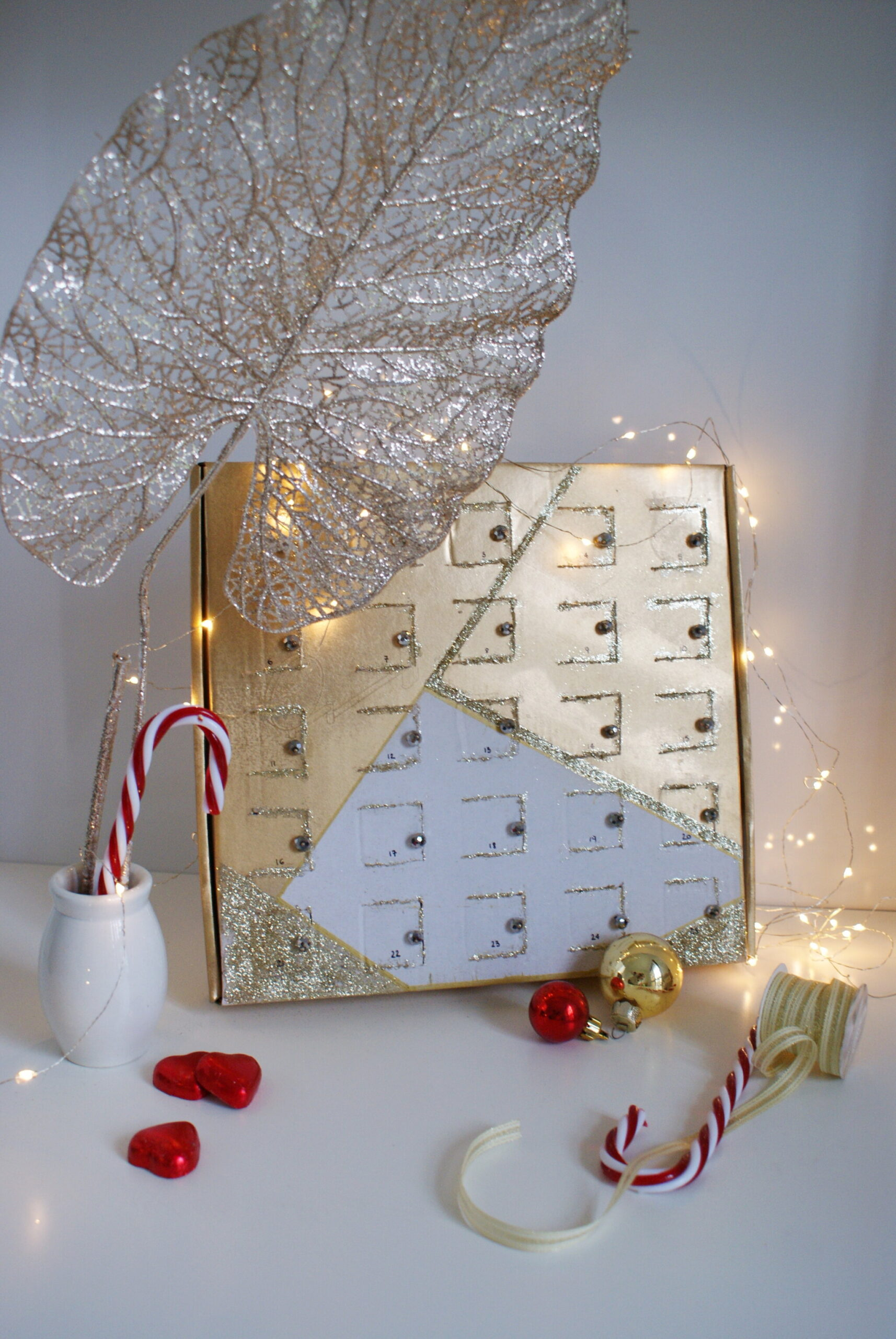 diy advent calendar chocolate box easy genius idea last minute handmade minimalist