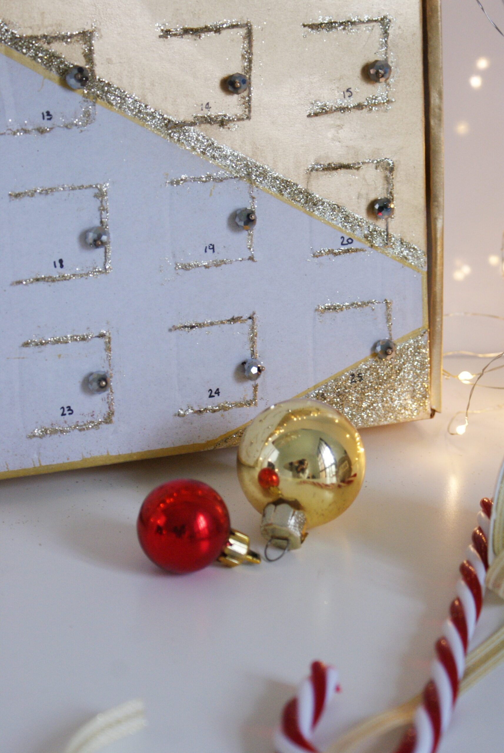 diy advent calendar christmas chocolate box genius reusable last minute idea