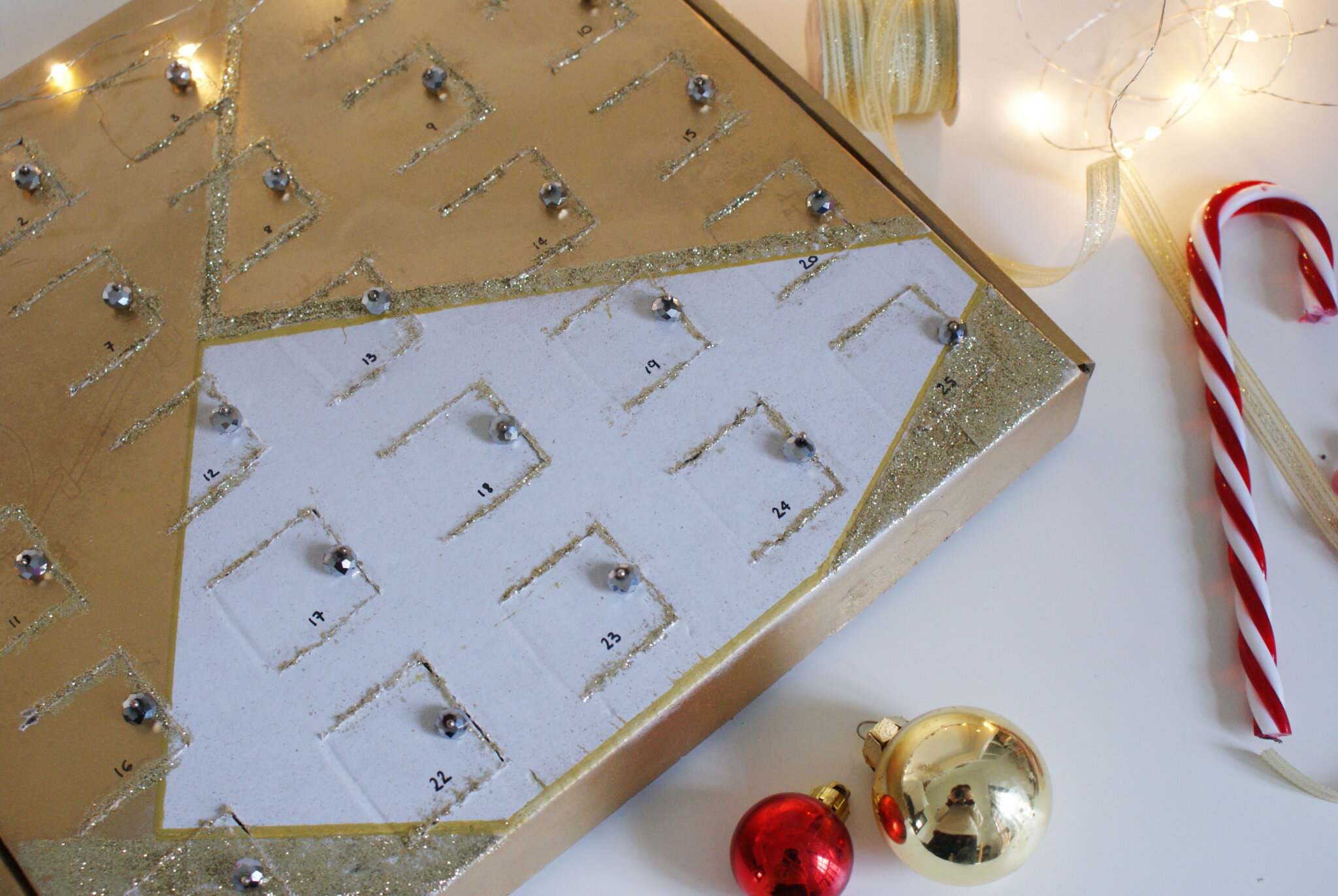 diy advent calendar chocolate box easy tutorial idea
