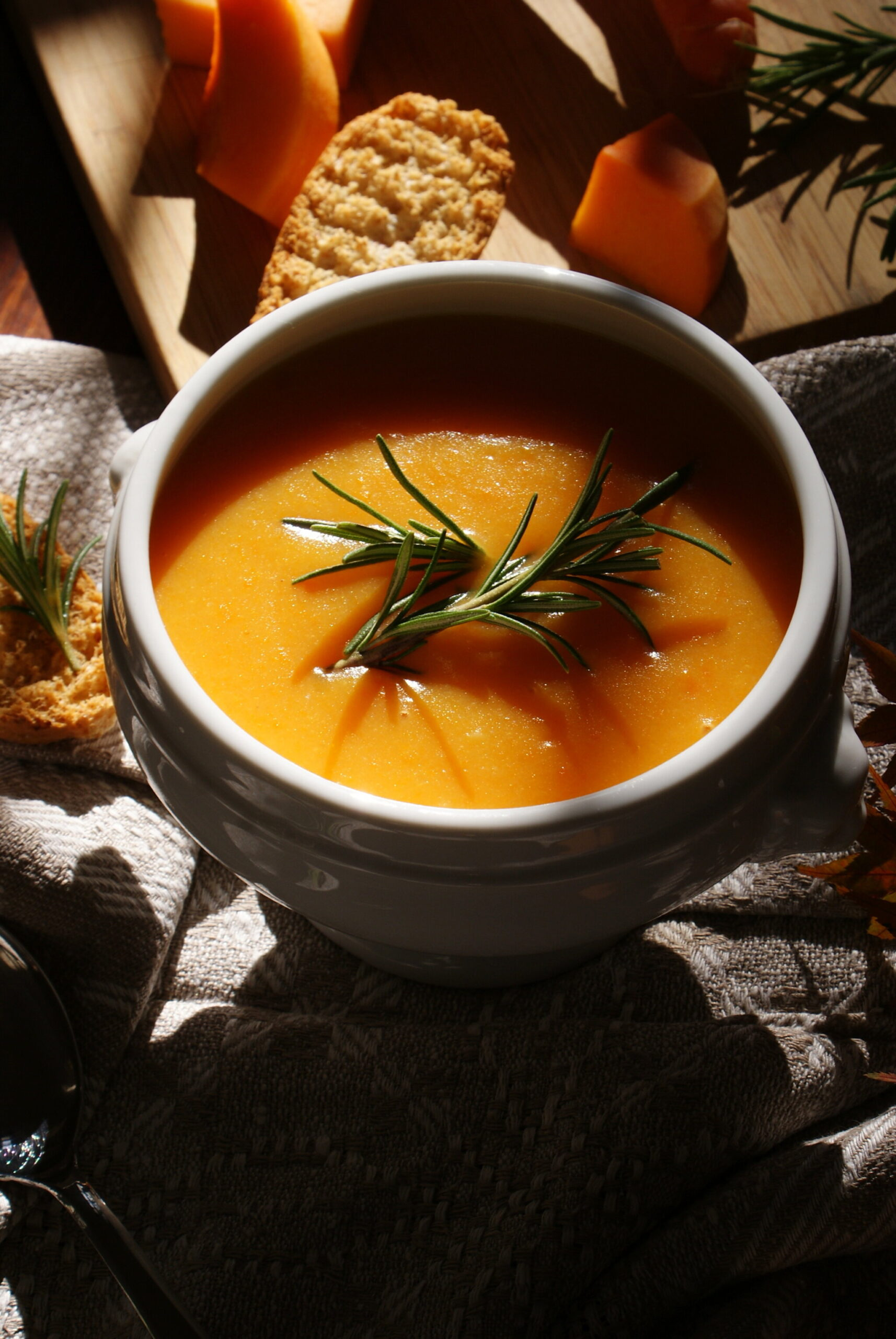 best fall winter soup recipe vegan healthy pumpkin idea