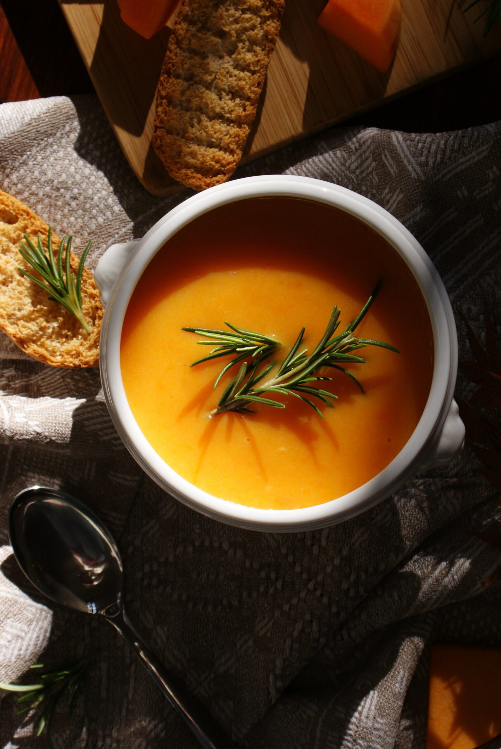 best fall winter soup recipe easy quick vegan healthy pumpkin