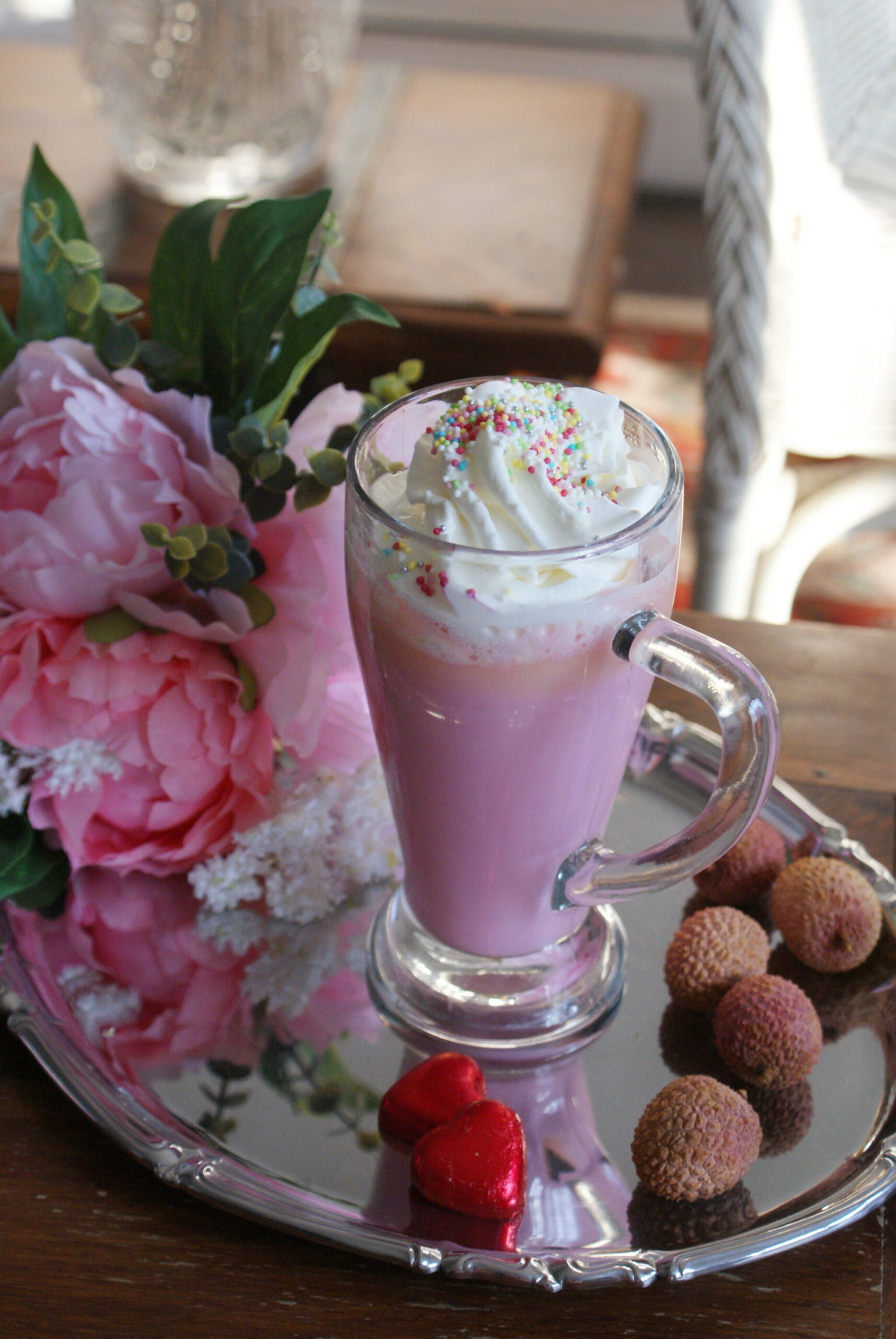 easy pink hot chocolate recipe unicorn ultimate cioccolata calda rosa ricetta