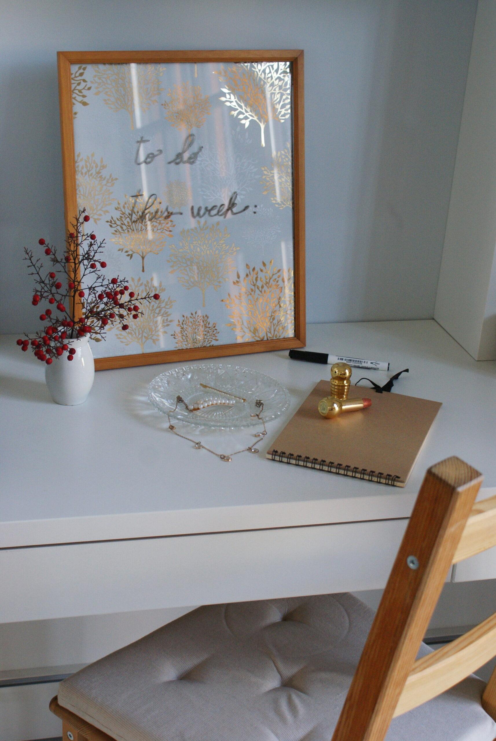 diy dry erase board 5 minute cheap tutorial handmade how make minimalist