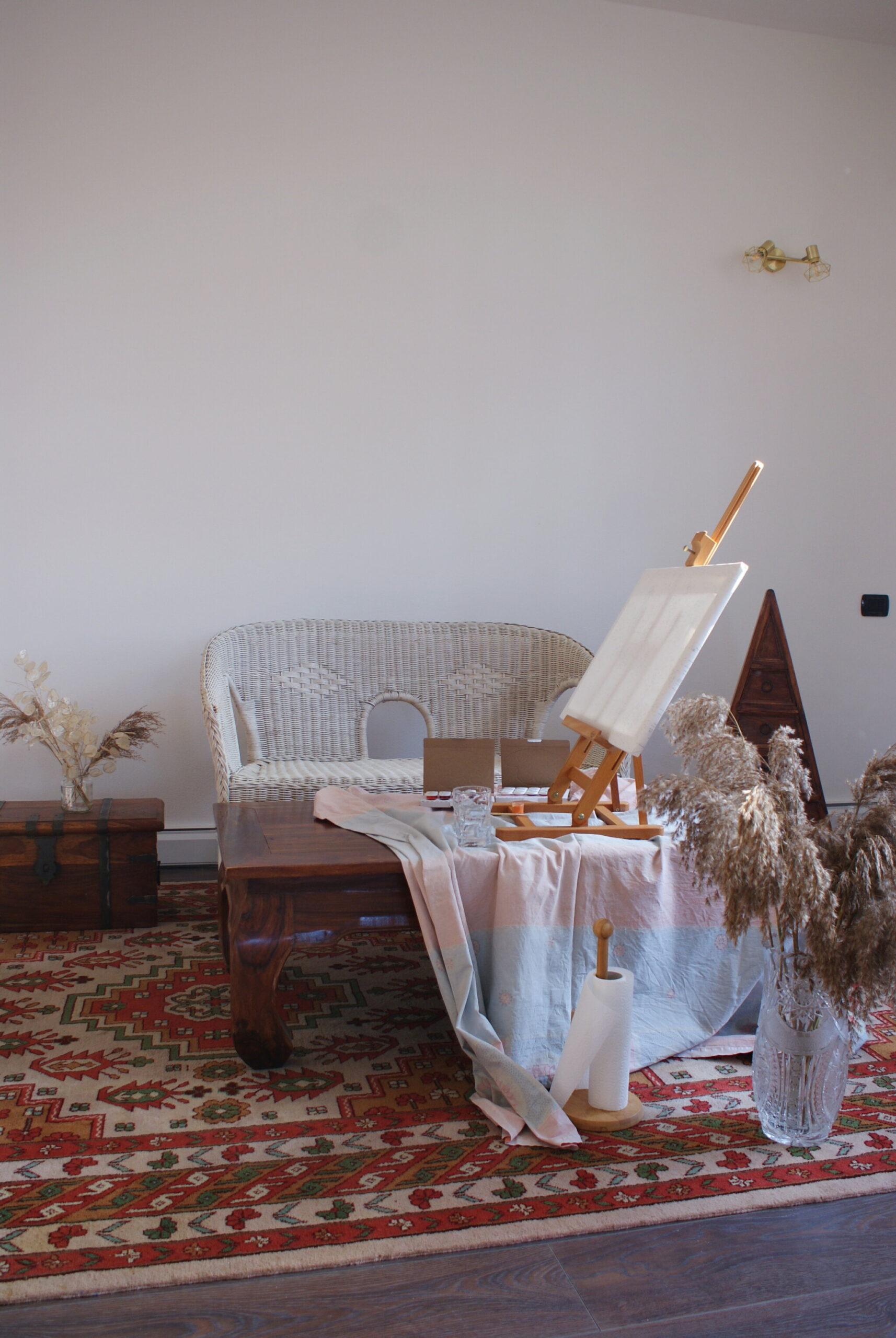 creative corner home decor neutrals inspiration painting