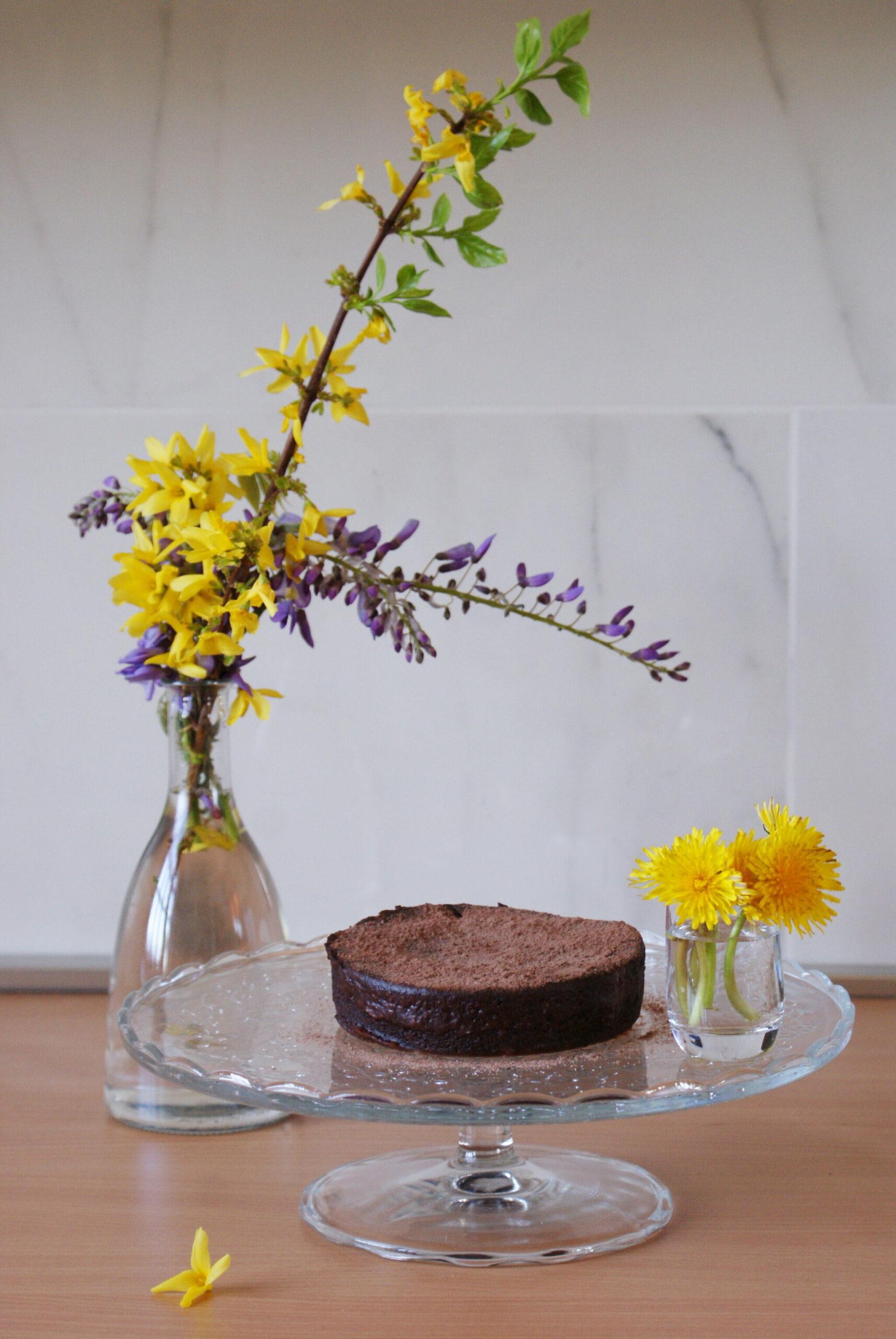 torta tortina soffice cioccolato microonde dieci 10 minuti ricetta facile veloce francinesplaceblog