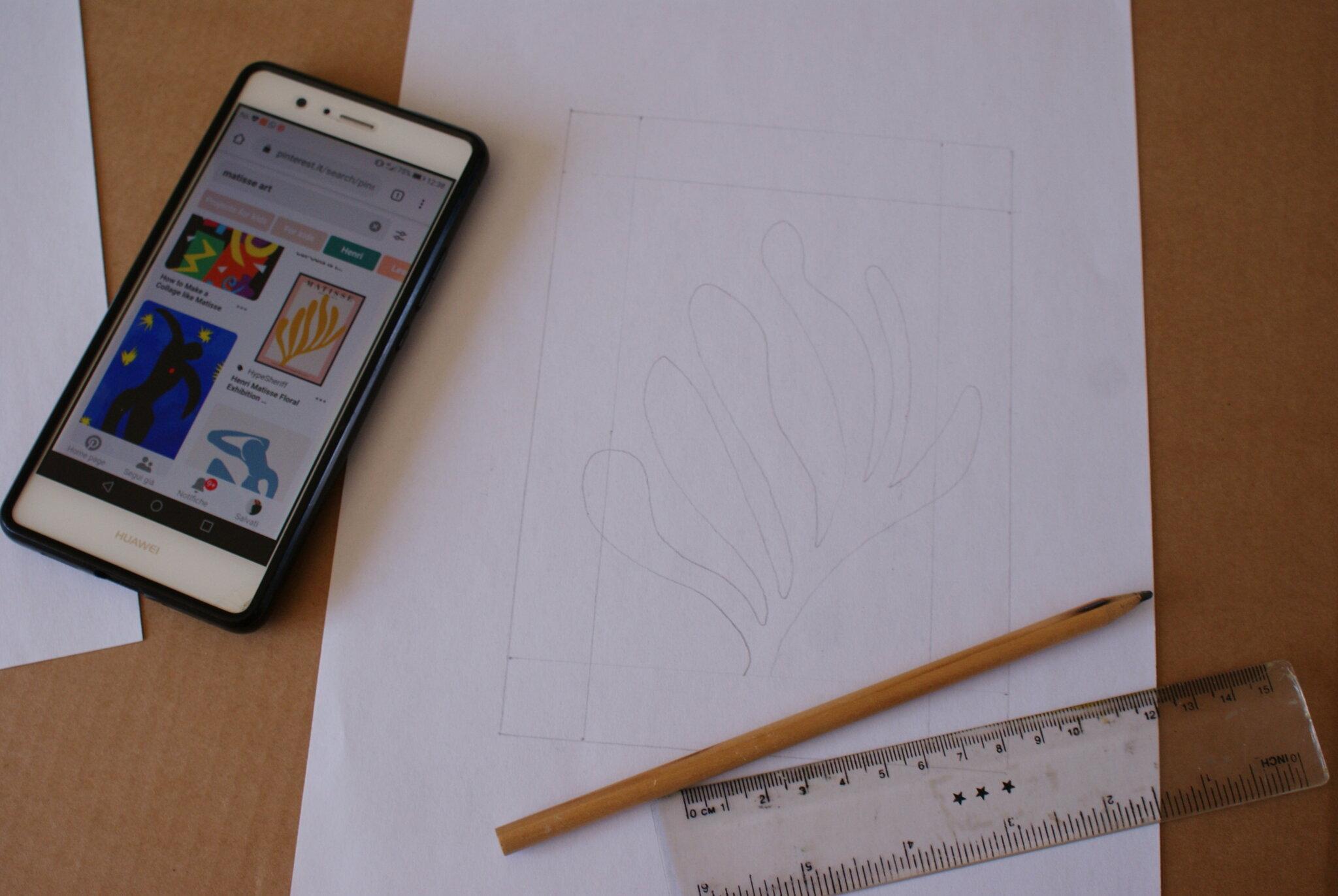 easy diy henri matisse art painting tutorial