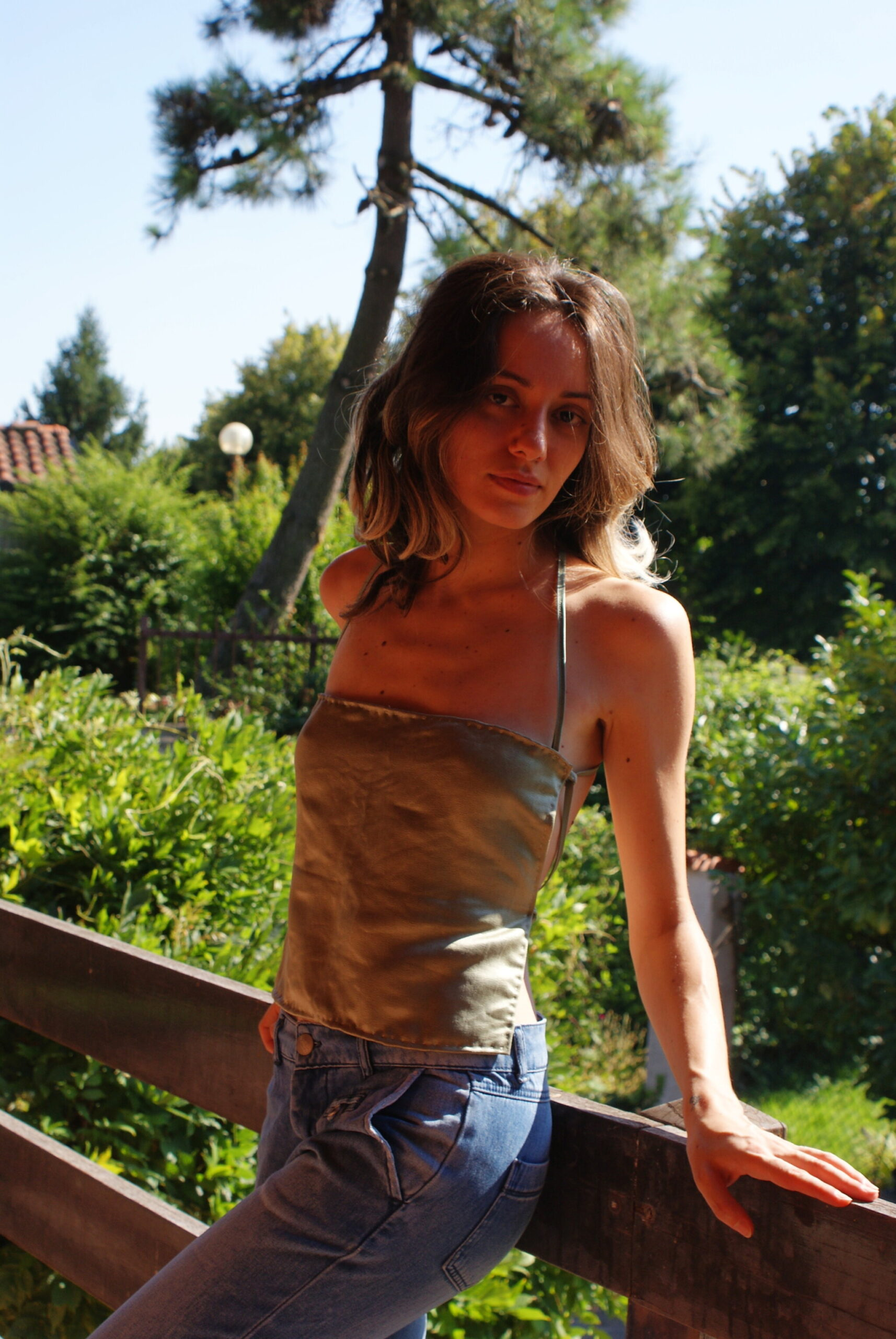elisa pizzola diy lifestyle blogger creativa fai da te crop top raso seta facile tutorial cucito