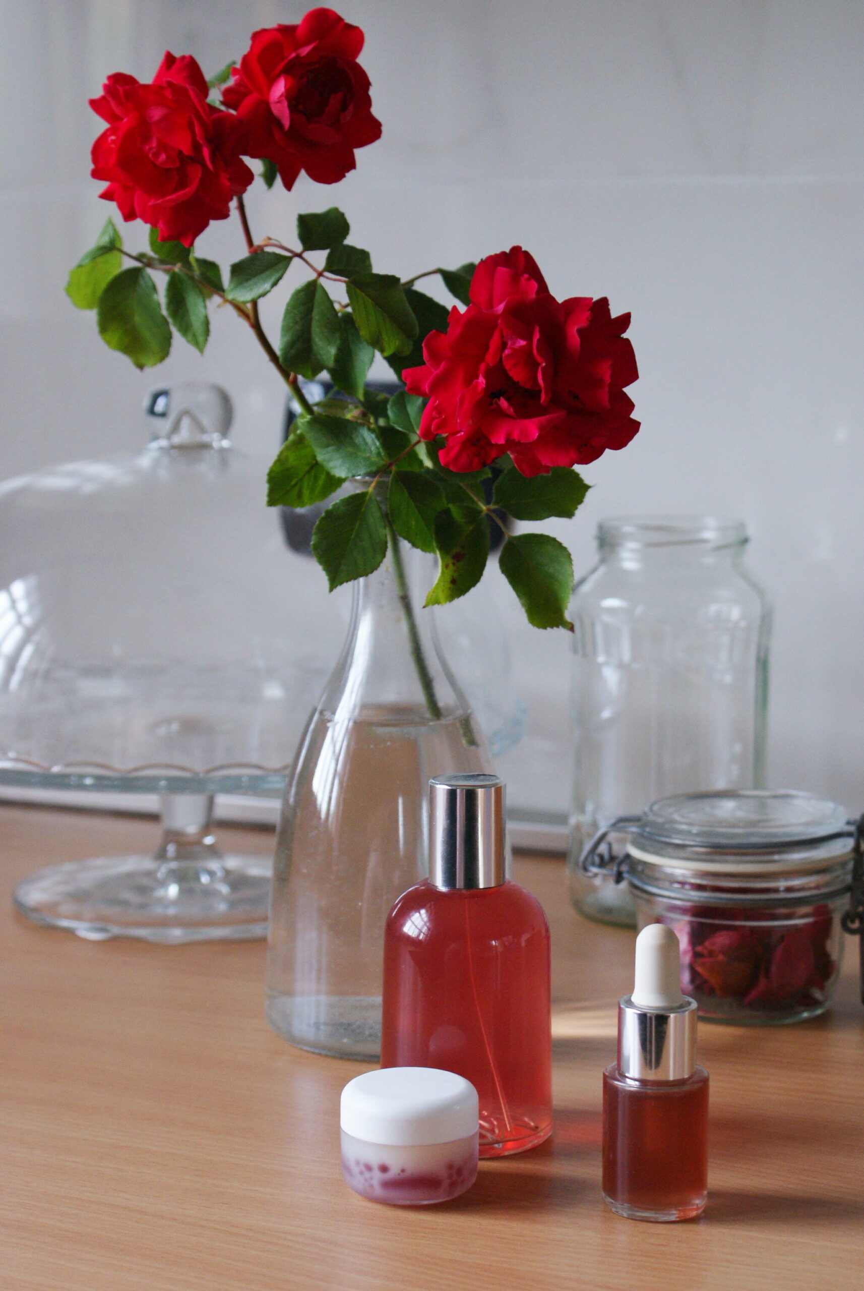 3 diy rose skincare products how make home easy tutorial recipe video francinesplaceblog serum water lip balm