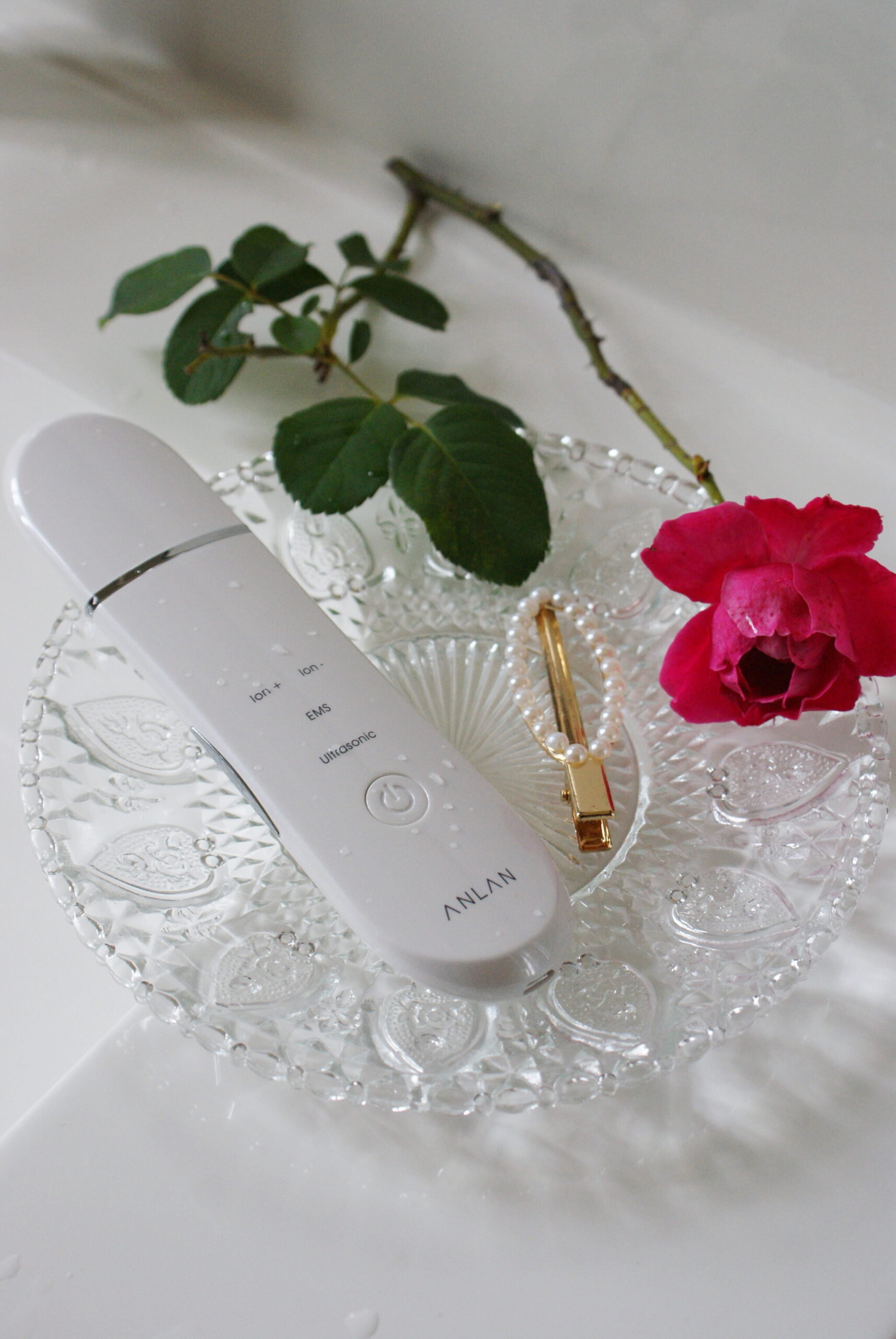 anlan skincare device scrub ion ultrasonic tested review tried
