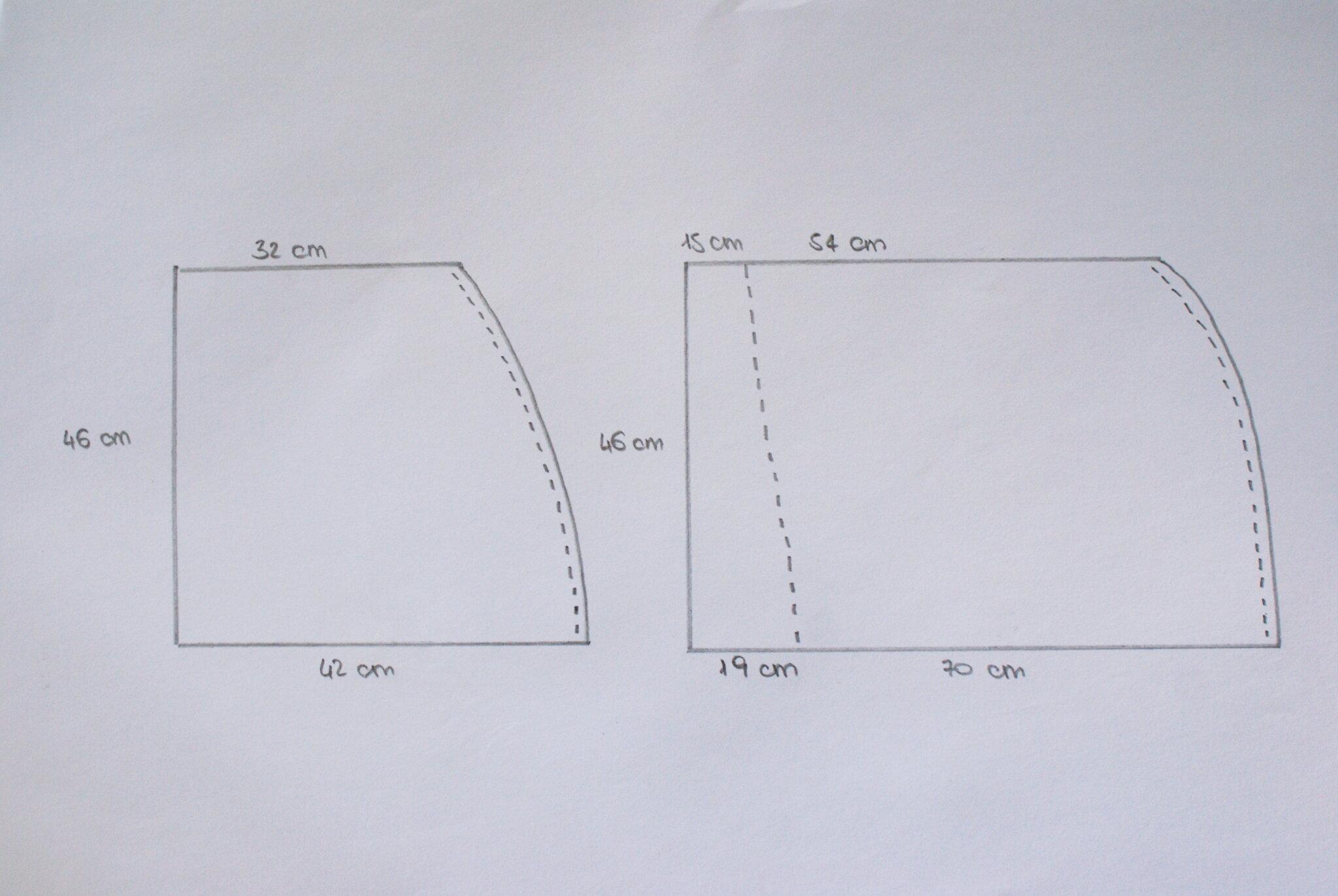 wrap skirt mini free sample printable tutorial sewing