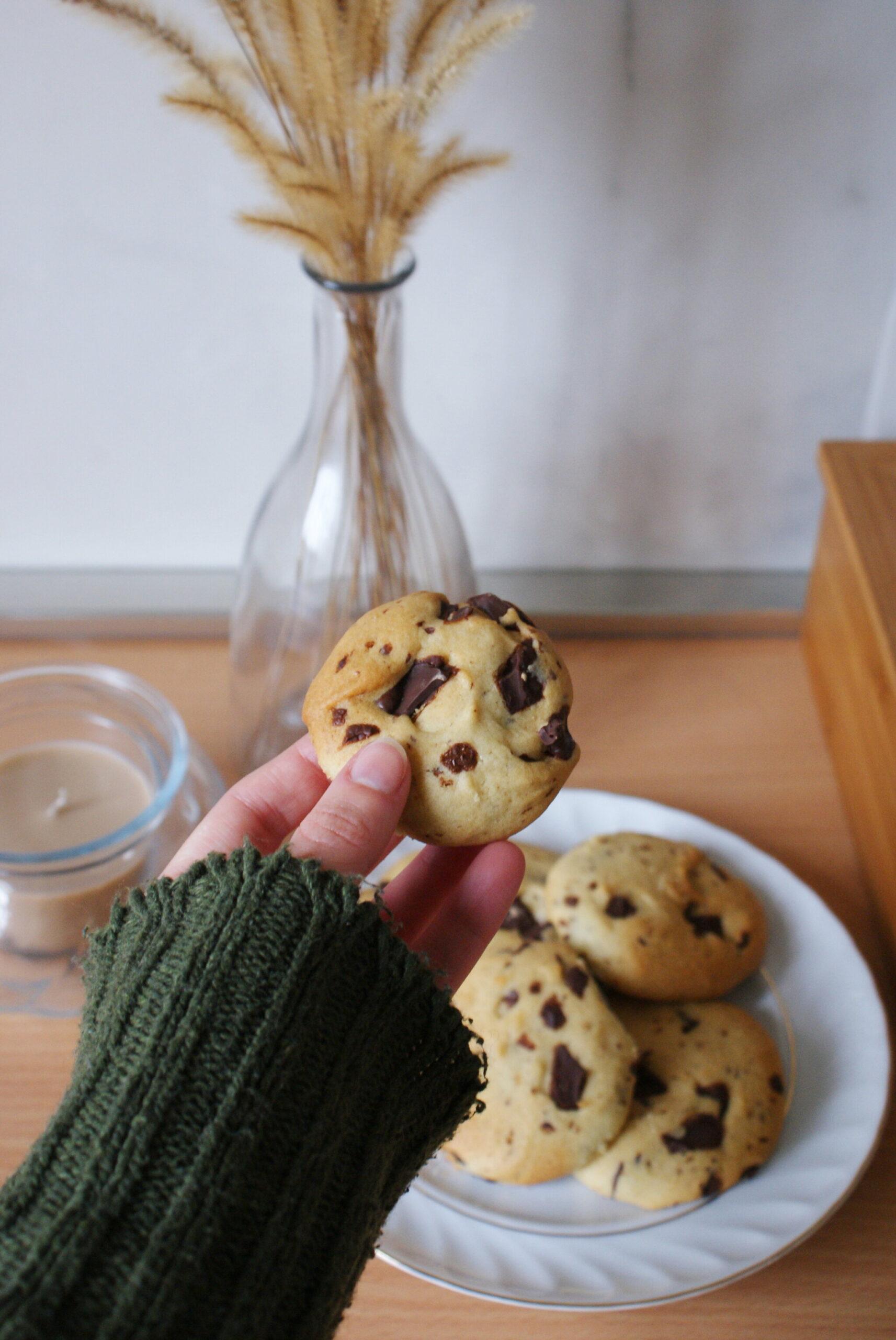 best easy vegan chocolate chips cookies recipe healthy bake quick 20 minute plant based ultimate francinesplaceblog traditional