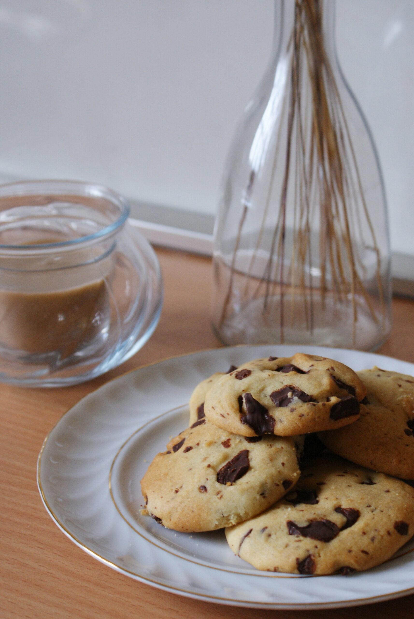 best easy vegan chocolate chips cookies recipe healthy bake quick 20 minute plant based ultimate francinesplaceblog traditional american
