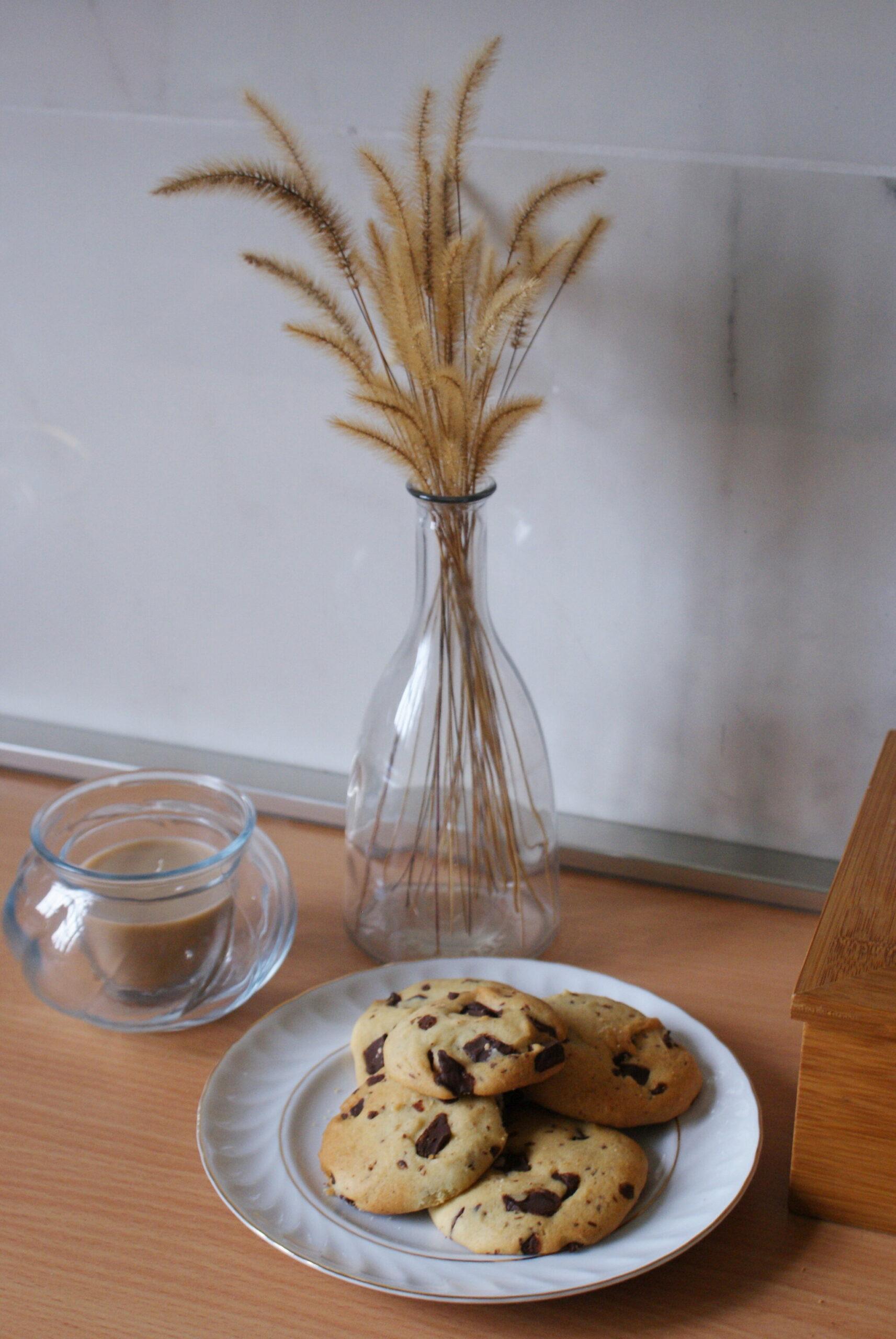 BEST & EASY VEGAN CHOCOLATE CHIPS COOKIES RECIPE