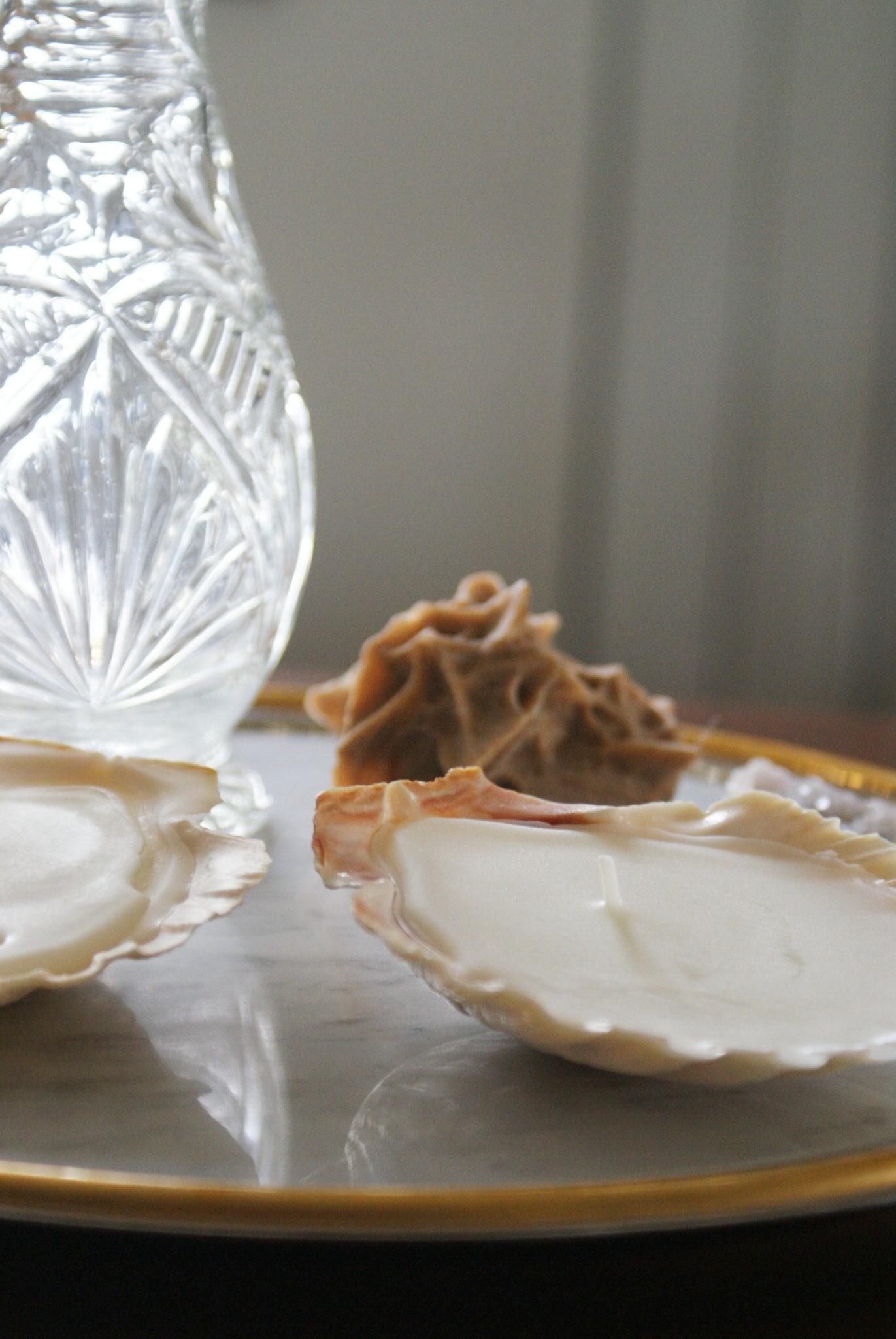 diy sea shell candles ultimate easy quick tutorial how make home decor aesthetic candele conchiglia conchiglie faidate casa come fare francinesplaceblog guide